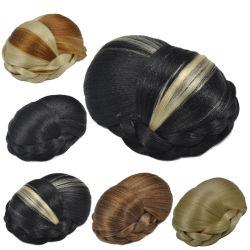 Meilleure vente personnalisé de haute qualité de multiples dimensions Chignon perruque de couleur