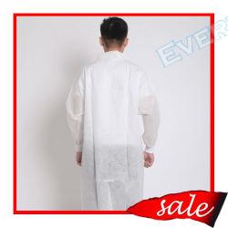 Laboratoire non tissé Veste avec col en tricot/col en V