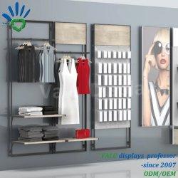 Vendita All'Ingrosso Di Vestiti Da Parete Appendiabiti Rack Abbigliamento Store Interior Design Abbigliamento Da Lavoro