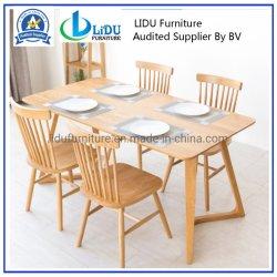 Mesa de jantar e cadeira Café clássica cadeira de jantar/Pretinha/Windsor Cadeira de cozinha/sala de jantar do mobiliário de qualidade elevada