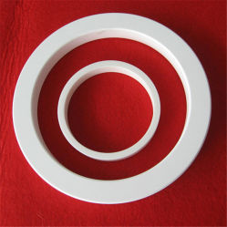 Zirconia blanco Collar de Cerámica Industrial/ Ring