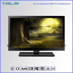Écran plat de 18,5 pouces 16 : 9 TV LED HD AC100-240V DC12V