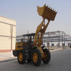 chargeuse à roues de matériel de construction utilisés sur la mine de charbon