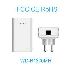1200Mbps con PLC Powerline Receptor de vídeo para el hogar y oficina