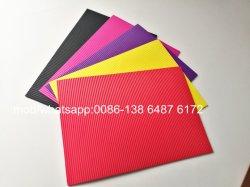 Feuilles d'artisanat en mousse EVA ondulé auto-adhésif éponge colorés assortis d'artisanat