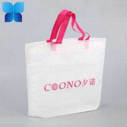 Logo personnalisé non tissé Promotion feuilleté un sac de shopping