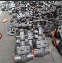 Toma de acero forjado de la API de válvula de compuerta de soldadura 150-800lb