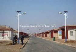 6m полюс 20Вт светодиод солнечной энергии для освещения улиц страны дороги