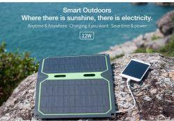 بطاقة بطارية كمبيوتر محمول يعمل بالطاقة بقدرة 12 واط تعمل بالطاقة عبر منفذ USB يعمل بالطاقة الشمسية طراز أصلي من المصنع لشاحن اللوحة