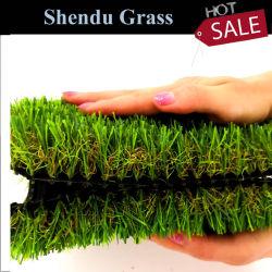 Het anti-uv Gras van het Gras van het Landschap van 35mm Plastic Valse Kunstmatige Synthetische voor de Decoratie van de Tuin en van het Huis