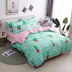 Bordado al por mayor ropa de cama, cubierta colcha de microfibra