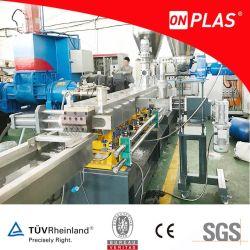 PE/PS/PA/ABS +/fibre de carbone en verre plastique d'ingénierie bouletage Ligne de l'extrudeuse