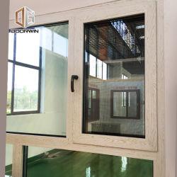 Boston Деревянные зерна доказательства о взломе двойные окна алюминиевые дверная рама перемещена наклона поверните окно с чашечной петли