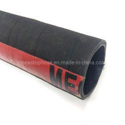 Borracha preta 1 2 3 polegadas a mangueira de sucção da bomba de água flexível