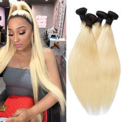 Китай продукты/поставщиков №613-русые бразильского человеческого волоса с кружевной закрытие шелковистой прямой