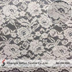 Vestido de moda nupcial de tejido del cordón de tela de encaje bordado de encaje (M0394)