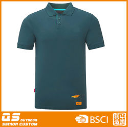 Men's occasionnels de sports d'impression à séchage rapide Polo à manches courtes Tee-shirt