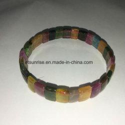 Мода естественного цвета турмалин браслет