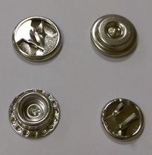 강인성 직물 사용 쌍둥이 견인삭 반지 스냅 단추