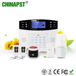 Sécurité GSM sans fil les plus chauds Smart Home Alarm avec affichage LCD (PST-GA997CQN)