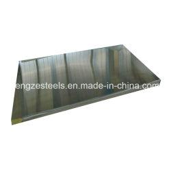 Material de construção AISI 430 201 304 2b por grosso a Chapa de Aço Inoxidável