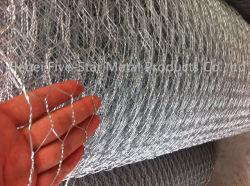 Hexagonal de acero galvanizado Compensación/malla de alambre hexagonal