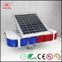 Energía solar la luz de carretera/LED LED luces estroboscópicas Solar/carretera por la noche de la señal de precaución el tráfico de la luz de alta velocidad de la luz de la lámpara de aviso/Autopista/Autovía/Autopista de la luz de advertencia