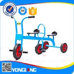 최신 판매 아이 차 아이들은 재미있은 게임 두 배 Quadricycle를 탄다