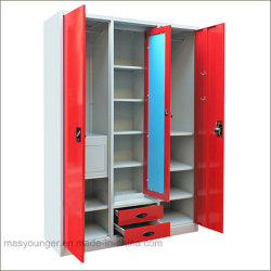 Nuevo Diseño de Muebles de Dormitorio Armario archivador de almacenamiento de metal