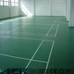 À prova de alta qualidade Azulejos Pavimentos desportivos de PVC para Campo de Ténis Basquetebol