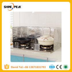 Küche-Gas-Ofen-Taiwan-Staublech-Aluminiumfolie-Dämmplatte-Isolierung, die heißes Fett-Spritzen-Leitblech kocht