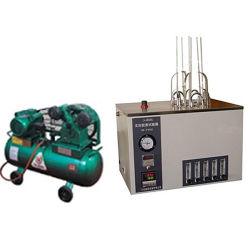 Testador de Goma inexistente instrumento de laboratório para o conteúdo das gengivas inexistente na gasolina de aviação e gasolina automotiva