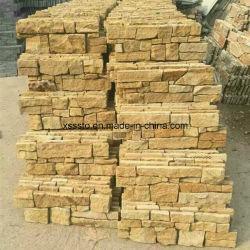 Matériau de construction naturels de tuiles en ardoise pour les murs de pierres de revêtement