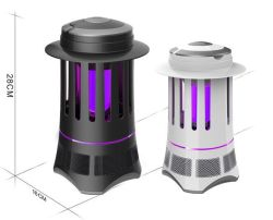 110-220V Indoor Electric LED Quiet Inhale Mosquito Killer紫外線Lamp Insect Repeller Pest Repellent