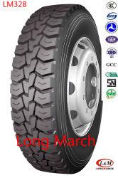 305/70R19.5 Longmarch boueux et de la neige de pneus de camion radial avec l'étiquetage de l'UE (LM328)