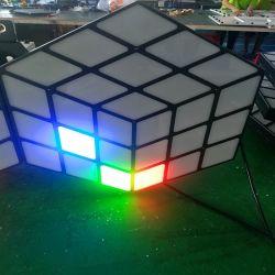 Matière acrylique DMX512 éclairage LED pour stade professionnel Bar 3D Magic Cube mur