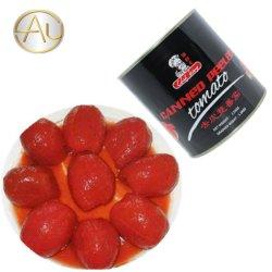 Saudáveis fresco fácil abrir o alimento de tomate em lata