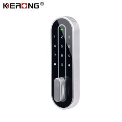 KERONG مفتاح لاسلكي ذكي قفل كاميرا كلمة المرور الرقمية الإلكترونية لـ خزانة/أثاث المكاتب