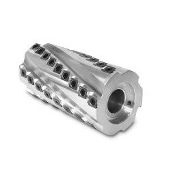 Usinagem CNC espiral do cabeçote de corte helicoidal de carboneto de cabeçote de corte da ferramenta de corte de madeira