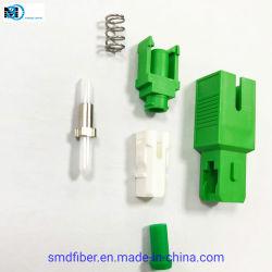 Baixa perda de inserção 2,0mm Sc Simplex Conector de Fibra