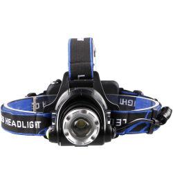 LED 헤드램프 어업 헤드라이트 T6/L2/V6 3모드 조수 가능 방수 슈퍼 2X18650 배터리로 구동되는 밝은 캠핑 조명