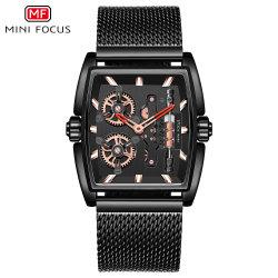 小型焦点の専門の製造業者の供給の方法手の新しい方法革バンドが付いている熱い販売の人の腕時計
