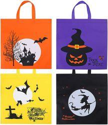 O Dia das Bruxas Sacos Non-Woven Grande truque ou tratar sacos sacos de abóbora Tote Halloween Dom Saco com alças para parte favorece