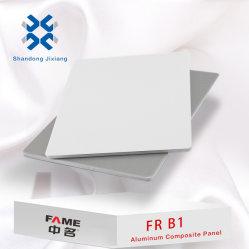 El P. B1 de paneles sándwich de recubrimiento PVDF Revestimiento PE/ACP ignífuga ACM para el exterior/ muro interior revestimiento de material de construcción, decoración de instrumentos