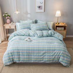 Кровать лист 100% хлопок четырех сезонов 4ПК на базе наборов Bedsheets постельные принадлежности для спальни