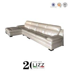 Fabricante de muebles en casa de Promoción Comercial salón sofá de cuero servidumbre