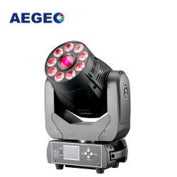 9X18W RGBWA híbrido UV 90w foco LED moviendo la cabeza de las luces de DJ Fase