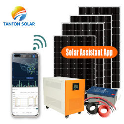 태양 에너지 시스템 홈 5kw 태양 에너지 시스템 5000W 태양 전지판 시스템 설치