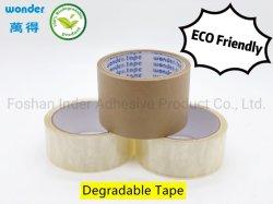 BOPP/OPP biologisch abbaubares Klebeband auf Wasserbasis für Karton mit Verpackungsdichtung