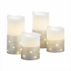 화이트 박스 장식 장식 맞춤형 Vodwin 생일 캔들 LED 캔들 고품질